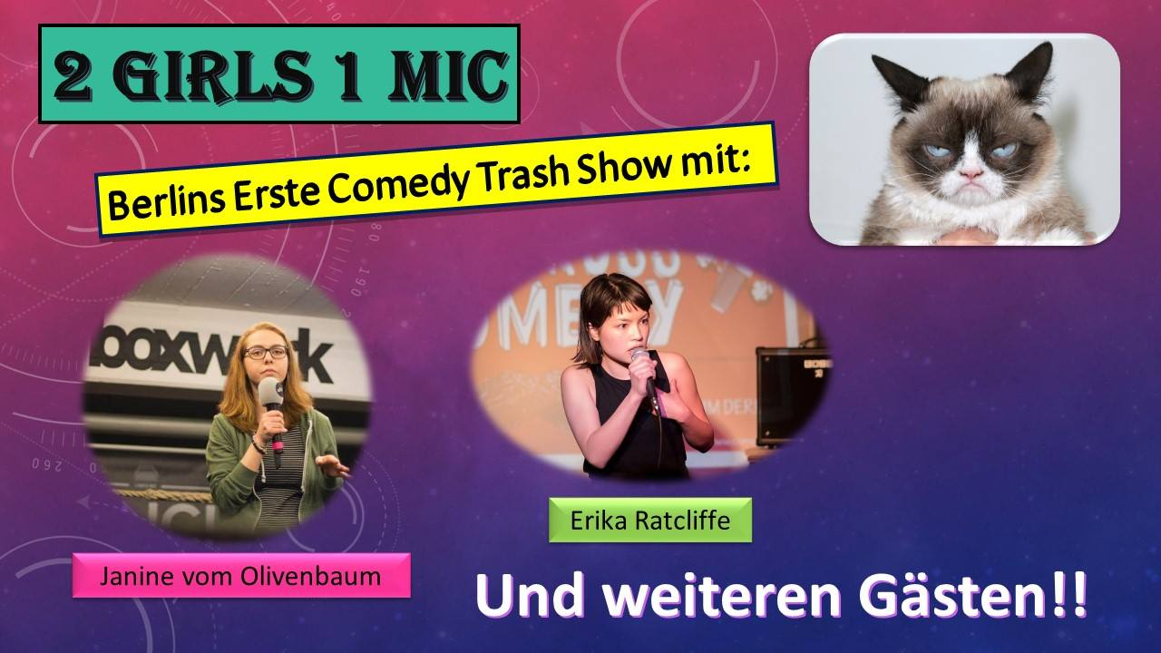 Stand Up Comedy 2 Girls 1 Mic